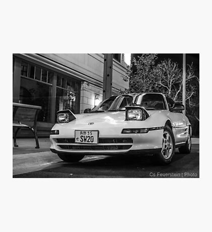 CarAndPhoto - Toyota MR2 - SW20  Photographic Print