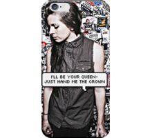 Lynn Gunn Queen Edit (PVRIS) iPhone Case/Skin