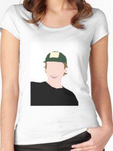 Mac Demarco Minimalist Women's Fitted Scoop T-Shirt