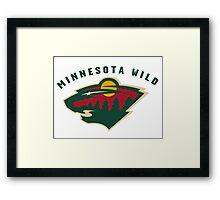 Minnesota Wild Framed Print