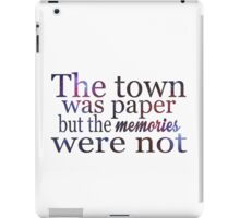 Galaxy - Towns iPad Case/Skin