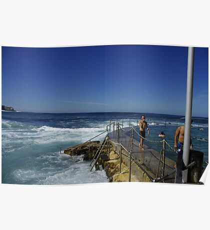 bronte rockpool Poster