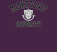 Miskatonic University Black & White Logo Unisex T-Shirt