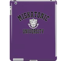 Miskatonic University Black & White Logo iPad Case/Skin