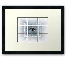 Whispy Blue-Available As Art Prints-Mugs,Cases,Duvets,T Shirts,Stickers,etc Framed Print