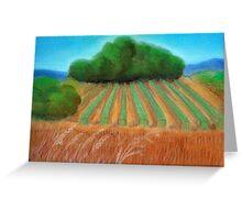 Annie's vineyard Greeting Card