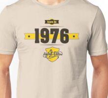 Born in 1976 (Choco&Yellow) Unisex T-Shirt