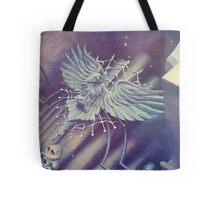 Haunted Organ Crow Tote Bag
