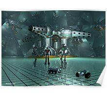 Little lost robots Poster