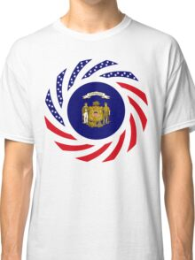 Wisconsin Murican Patriot Flag Series Classic T-Shirt