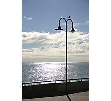 Evening light on the coast Photographic Print