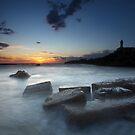 In the sea... the silence... by Saverio Savio