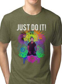 Shia Labeouf Epic JUST DO IT Tri-blend T-Shirt