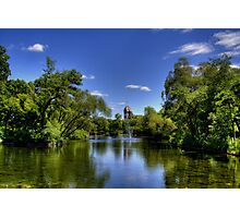 The Duck Pond Photographic Print