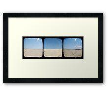 Sand Dunes - TTV Triptych Framed Print