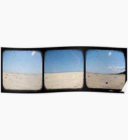 Sand Dunes - TTV Triptych Poster
