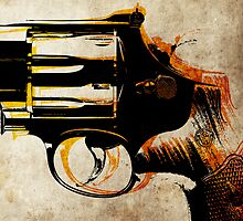Revolver Trigger by ArtPrints