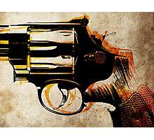 Revolver Trigger Photographic Print