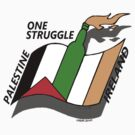Palestine And Ireland One Struggle by ventedanger
