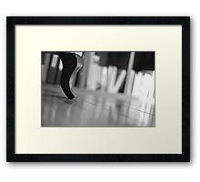 insisting Framed Print