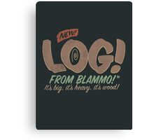 All New LOG!! Canvas Print