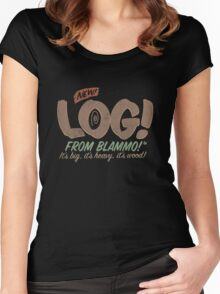 All New LOG!! Women's Fitted Scoop T-Shirt