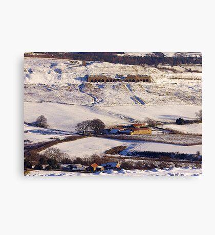 Lime Kilns - Rosedale Canvas Print