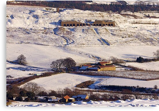 Lime Kilns - Rosedale by Trevor Kersley