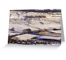 Lime Kilns - Rosedale Greeting Card