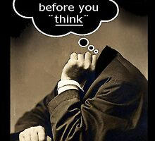 think by Loui  Jover