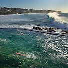 Bronte Ocean Baths II by Ian English