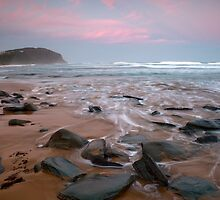Forresters Beach Sunset by Leanne Doroszuk