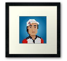 Kei Nishikori Framed Print
