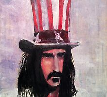 Frank Zappa (Top Hat) by William Wright