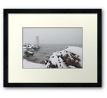 Desolate Tower Framed Print