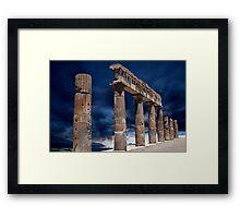 Roman Ruin Framed Print
