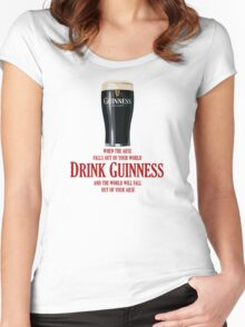 Drink Guinness Women's Fitted Scoop T-Shirt