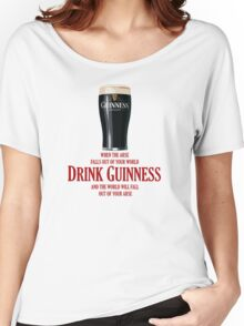 Drink Guinness Women's Relaxed Fit T-Shirt
