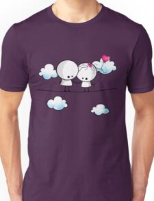 Let`s fall in love together Unisex T-Shirt