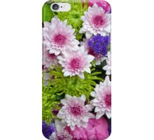 Colorful floral spring bouquet iPhone Case/Skin