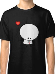 Sad boy with broken heart Classic T-Shirt