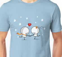 Dancing in the snow Unisex T-Shirt