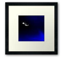 Night blue Framed Print