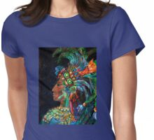 Lady of Yaxchilan Womens Fitted T-Shirt