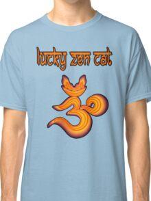 LUCKY ZEN CAT BRAND OMMMBLEM Classic T-Shirt
