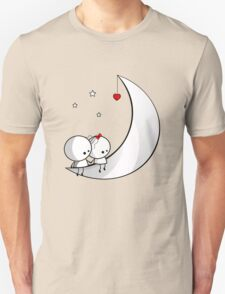 Sitting on the moon T-Shirt