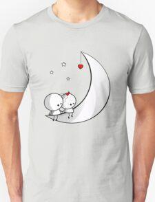 Sitting on the moon Unisex T-Shirt