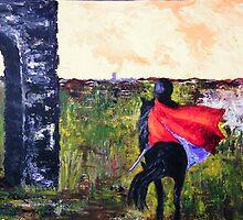 Rider and the Arch by allwyn