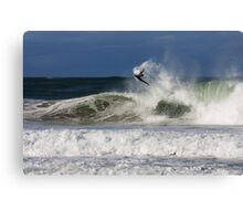 Little Rig, big invert - Tom Rigby Canvas Print