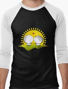 Looking at the sunset Men's Baseball ¾ T-Shirt